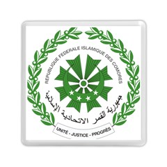 National Seal of the Comoros Memory Card Reader (Square)