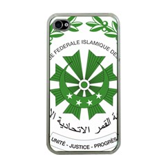 National Seal of the Comoros Apple iPhone 4 Case (Clear)