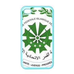 National Seal of the Comoros Apple iPhone 4 Case (Color)