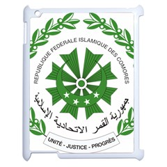 National Seal of the Comoros Apple iPad 2 Case (White)