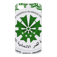 National Seal of the Comoros Apple iPhone 4/4S Premium Hardshell Case