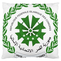 National Seal of the Comoros Large Cushion Case (One Side)