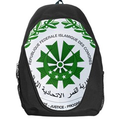 National Seal of the Comoros Backpack Bag