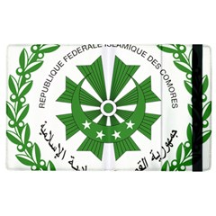 National Seal of the Comoros Apple iPad 3/4 Flip Case