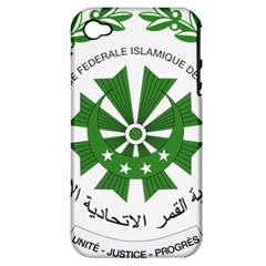 National Seal of the Comoros Apple iPhone 4/4S Hardshell Case (PC+Silicone)