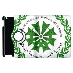 National Seal of the Comoros Apple iPad 3/4 Flip 360 Case