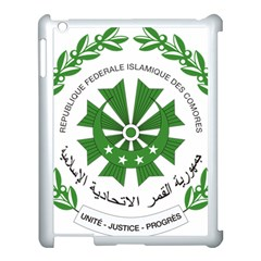 National Seal of the Comoros Apple iPad 3/4 Case (White)