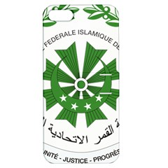National Seal of the Comoros Apple iPhone 5 Hardshell Case with Stand