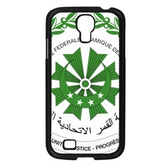 National Seal of the Comoros Samsung Galaxy S4 I9500/ I9505 Case (Black)