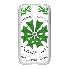 National Seal of the Comoros Samsung GALAXY S4 I9500/ I9505 Case (White)