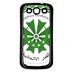 National Seal of the Comoros Samsung Galaxy S3 Back Case (Black)