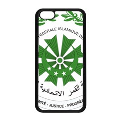 National Seal of the Comoros Apple iPhone 5C Seamless Case (Black)