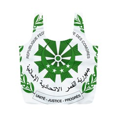 National Seal of the Comoros Full Print Recycle Bags (M)