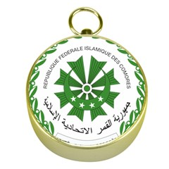 National Seal of the Comoros Gold Compasses
