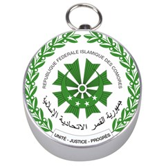 National Seal of the Comoros Silver Compasses