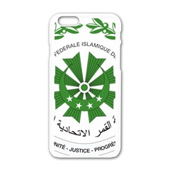 National Seal of the Comoros Apple iPhone 6/6S White Enamel Case