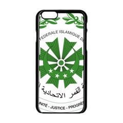 National Seal of the Comoros Apple iPhone 6/6S Black Enamel Case