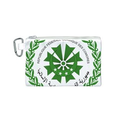 National Seal of the Comoros Canvas Cosmetic Bag (S)