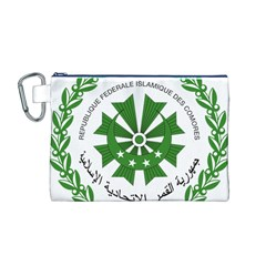 National Seal of the Comoros Canvas Cosmetic Bag (M)