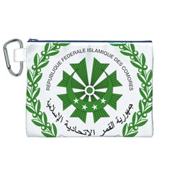 National Seal of the Comoros Canvas Cosmetic Bag (XL)