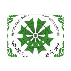 National Seal of the Comoros Double Sided Flano Blanket (Mini)