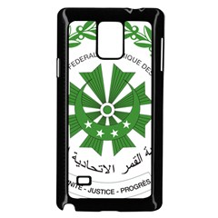 National Seal of the Comoros Samsung Galaxy Note 4 Case (Black)