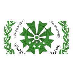 National Seal of the Comoros Satin Wrap