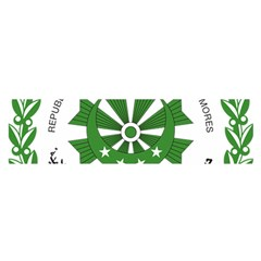 National Seal of the Comoros Satin Scarf (Oblong)