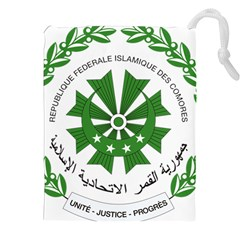 National Seal of the Comoros Drawstring Pouches (XXL)