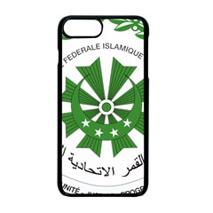 National Seal of the Comoros Apple iPhone 7 Plus Seamless Case (Black)