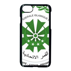National Seal of the Comoros Apple iPhone 7 Seamless Case (Black)