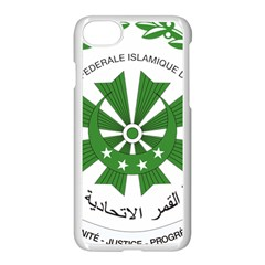 National Seal of the Comoros Apple iPhone 7 Seamless Case (White)