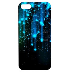Abstract Stars Falling  Apple iPhone 5 Hardshell Case with Stand