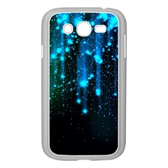 Abstract Stars Falling  Samsung Galaxy Grand DUOS I9082 Case (White)