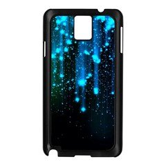 Abstract Stars Falling  Samsung Galaxy Note 3 N9005 Case (black)