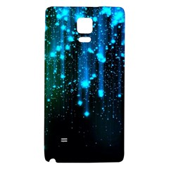 Abstract Stars Falling  Galaxy Note 4 Back Case