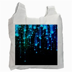 Abstract Stars Falling  Recycle Bag (Two Side)
