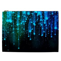 Abstract Stars Falling  Cosmetic Bag (XXL)