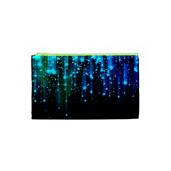 Abstract Stars Falling  Cosmetic Bag (XS)