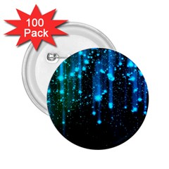 Abstract Stars Falling 2 25  Buttons (100 Pack)