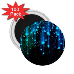 Abstract Stars Falling 2.25  Magnets (100 pack)