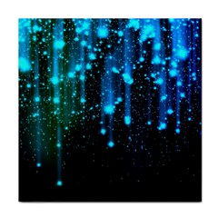 Abstract Stars Falling Face Towel