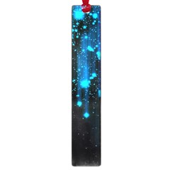 Abstract Stars Falling Large Book Marks