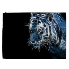 Ghost Tiger  Cosmetic Bag (XXL)