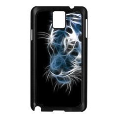 Ghost tiger Samsung Galaxy Note 3 N9005 Case (Black)