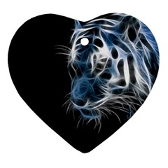 Ghost tiger Ornament (Heart)