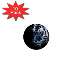 Ghost tiger 1  Mini Buttons (10 pack)