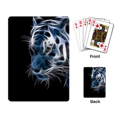 Ghost tiger Playing Card