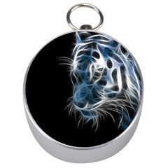 Ghost tiger Silver Compasses