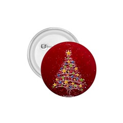 Colorful Christmas Tree 1.75  Buttons